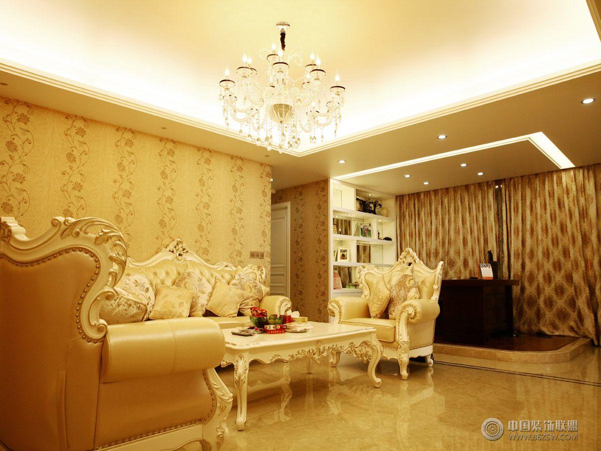 欧式小户型装修效果图-客厅装修效果图-八六(中国)