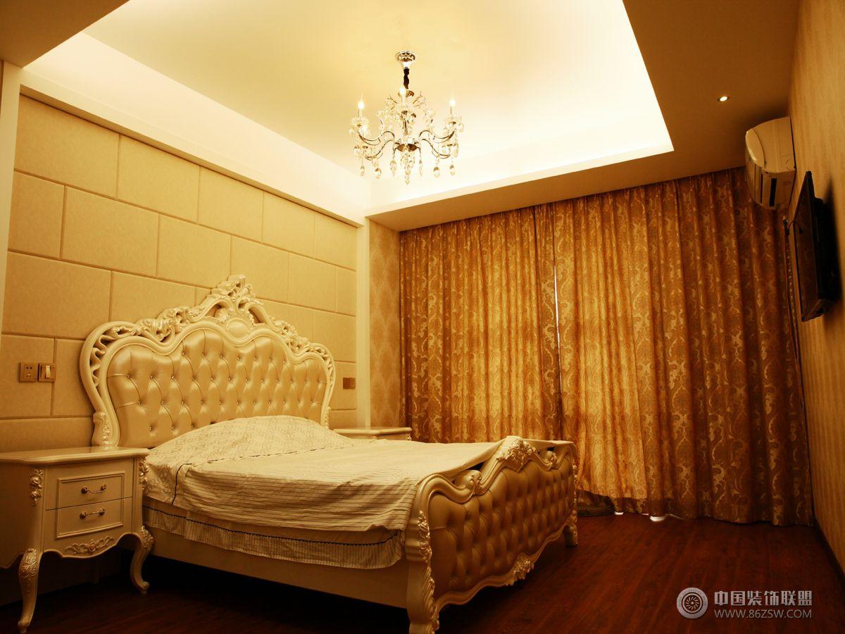 欧式小户型装修效果图欧式卧室装修图片