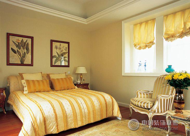欧式风格80平米装修图-卧室装修效果图-八六(中国)