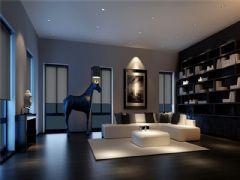 成都尚层装饰别墅装修现代简约风格案例效果图(一)现代简约风格别墅