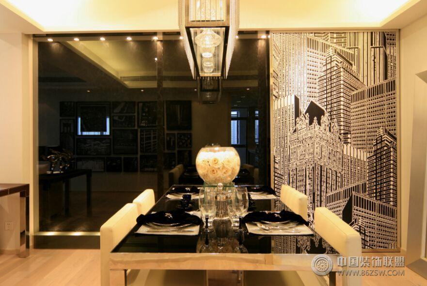 现代风格豪华装修图-客厅装修效果图-八六装饰网装修