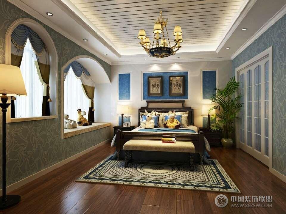 大氣歐式別墅風格-兒童房裝修效果圖-八六裝飾網裝修