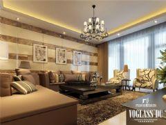 成都尚层装饰别墅装修现代简约风格案例欣赏(五)现代简约风格大户型