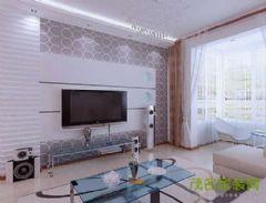 首付二期现代风格三居室