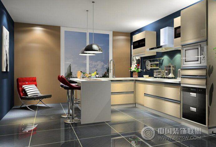 2014开放式厨房精彩设计 客厅装修效果图