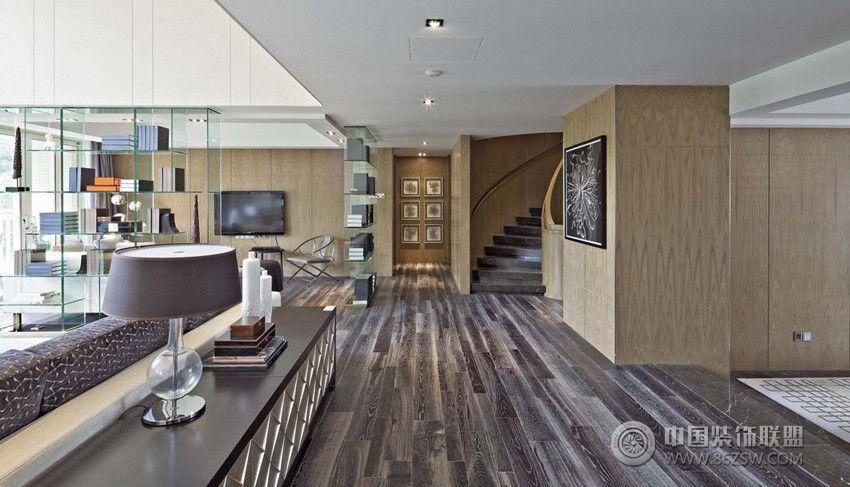 现代简约别墅风现代简约客厅装修图片