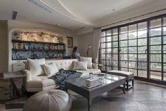 恬静美式风格美式风格二居室