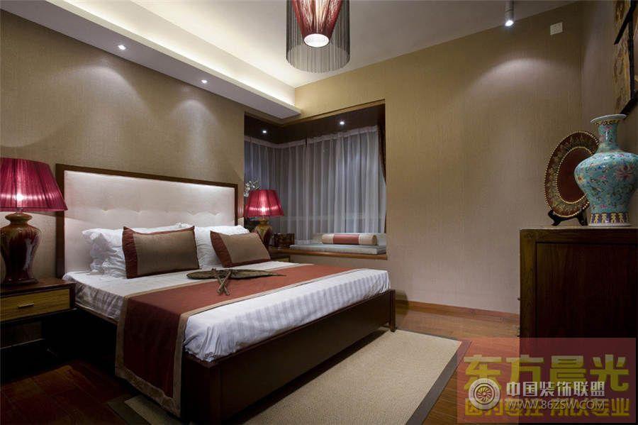 中式别墅室内设计案例餐厅装修图片