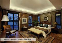 和平门北巷四合院装修中式卧室装修图片