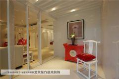 昌平中式別墅設計中式風格玄關裝修圖片