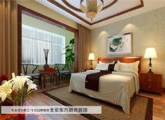 盘山别墅室内设计——东方晨光中式风格别墅