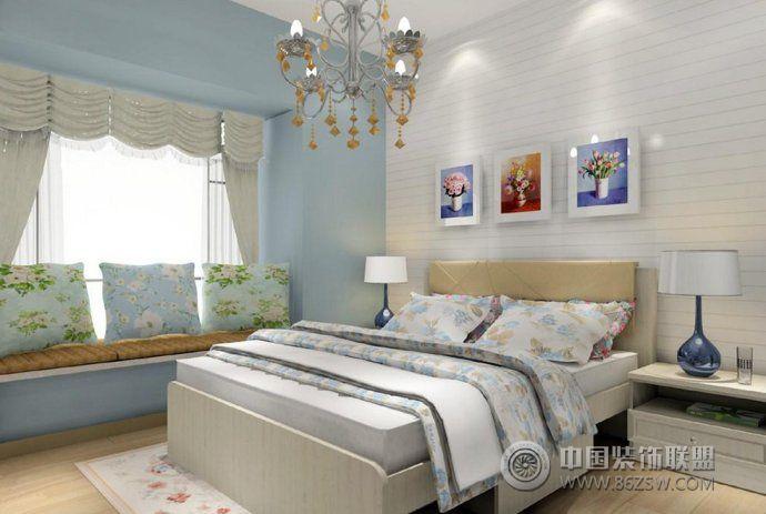 时尚静美卧室设计方案-客厅装修图片