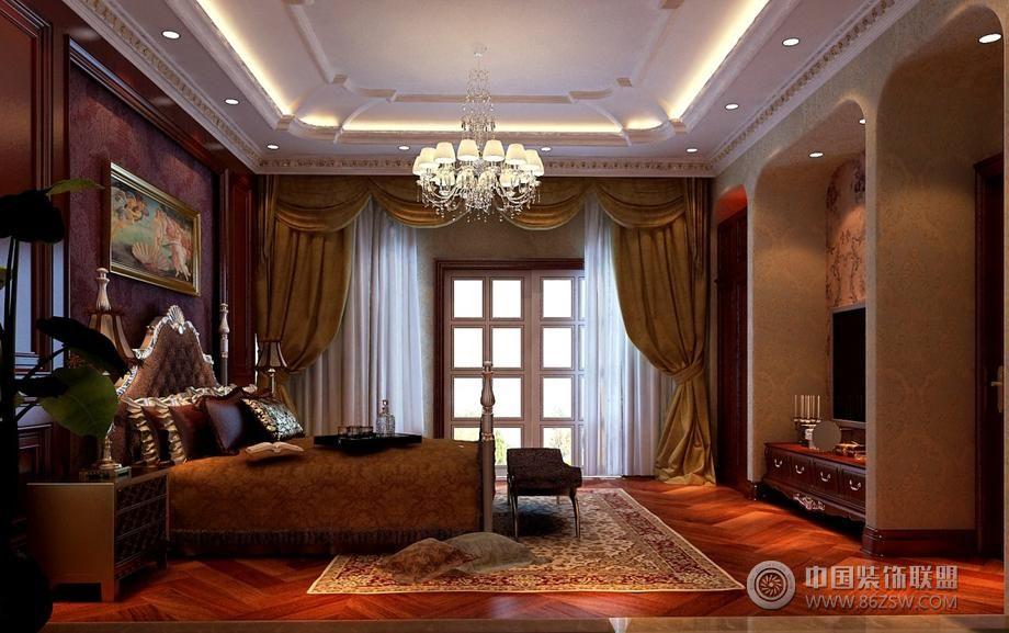 风格欧式卧室装修图片