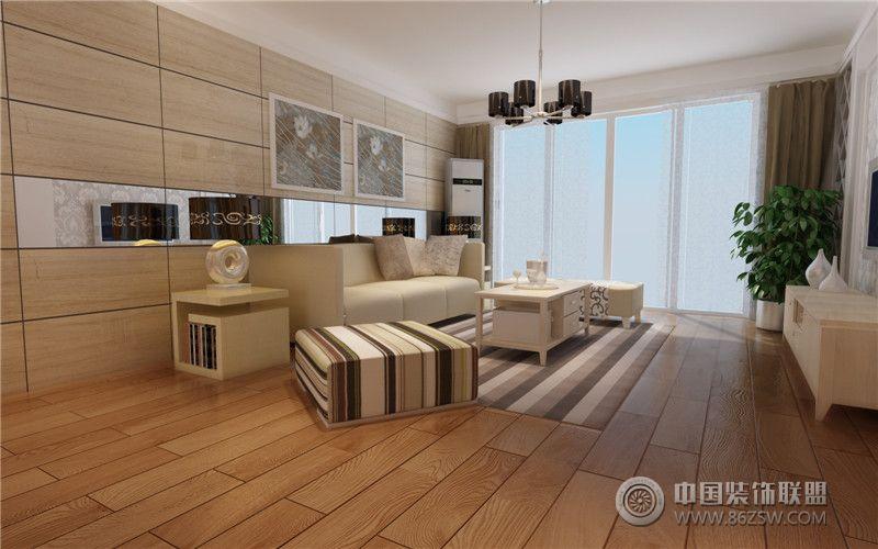 香格里拉现代风格案列-客厅装修图片
