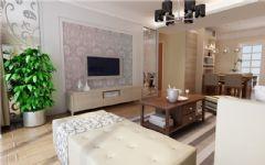 香格里拉现代风格案列现代风格三居室