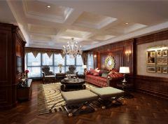 豪华美式三居室美式风格大户型