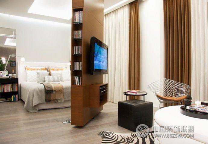 最新卧室隔断设计客厅装修图片