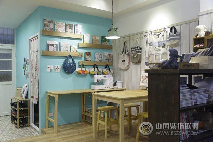 65平日式乡村美家田园餐厅装修图片