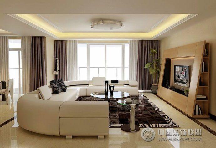 最新客厅沙发摆放设计-客厅装修图片