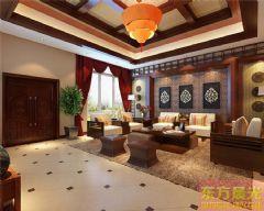 高雅的中式别墅设计中式风格大户型