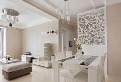 白色温馨现代风格小户型