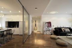 个性装饰现代风格三居室