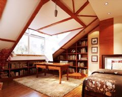 最新书房家具布局设计