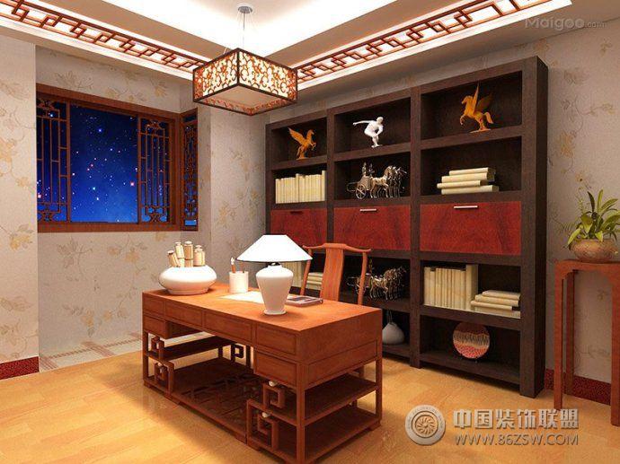 最新书房家具布局设计-客厅装修图片