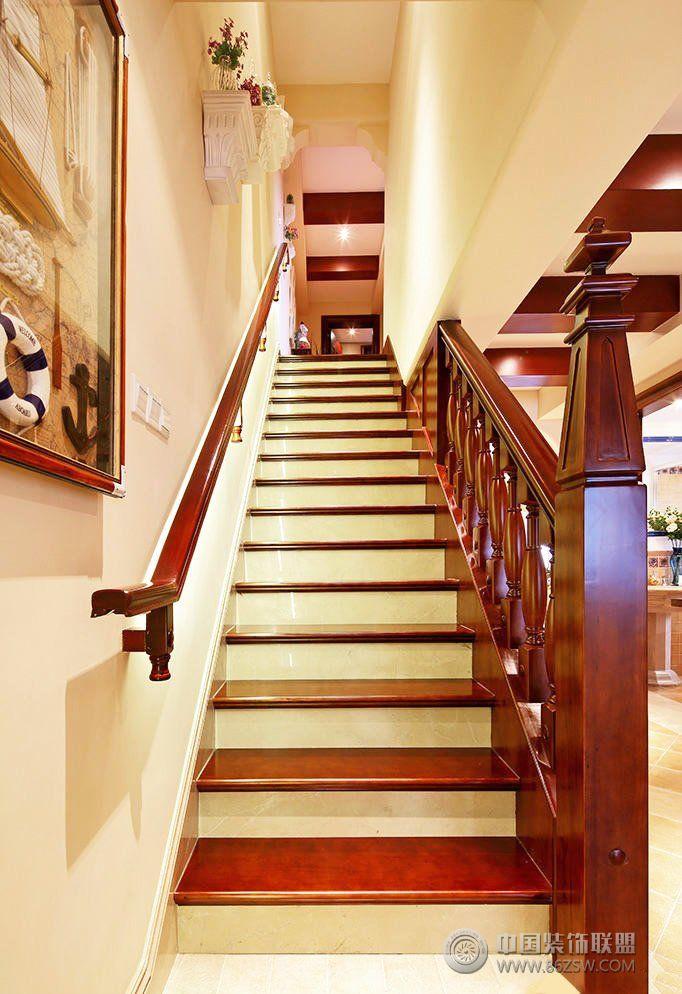 最新楼梯设计-整套大图展示-风格装修效果图-八六