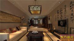 简洁大方中式别墅设计效果图中式风格别墅