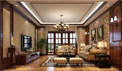 佳乐国际城150平米美式风格三居室