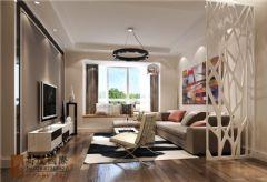 保利星语110平米现代风格二居室