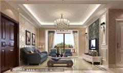 保利贝森公馆133平米欧式风格三居室