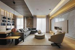 126平现代美式温馨公寓