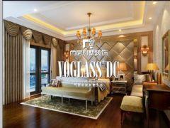 成都尚层装饰别墅装修蓝光1881简欧风格案例欧式风格大户型