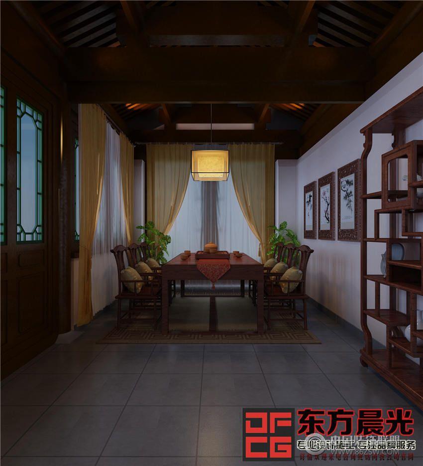 北京四合院中式会所设计会所装修图片