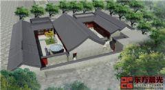 北京清雅中式四合院设计中式风格大户型