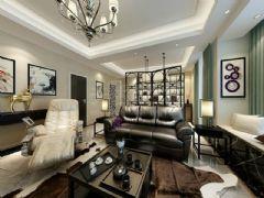 天古装饰|金辉融侨城|现代清新现代风格三居室