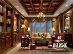 成都尚层装饰别墅装修复地御香山中式风格案例中式风格别墅