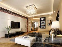 碧海明珠现代风格三居室