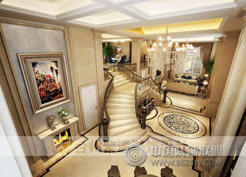 别墅案例欧式客厅装修图片