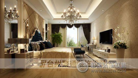 别墅案例欧式卧室装修图片