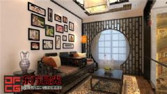 传统中式别墅设计效果图400平中式风格别墅