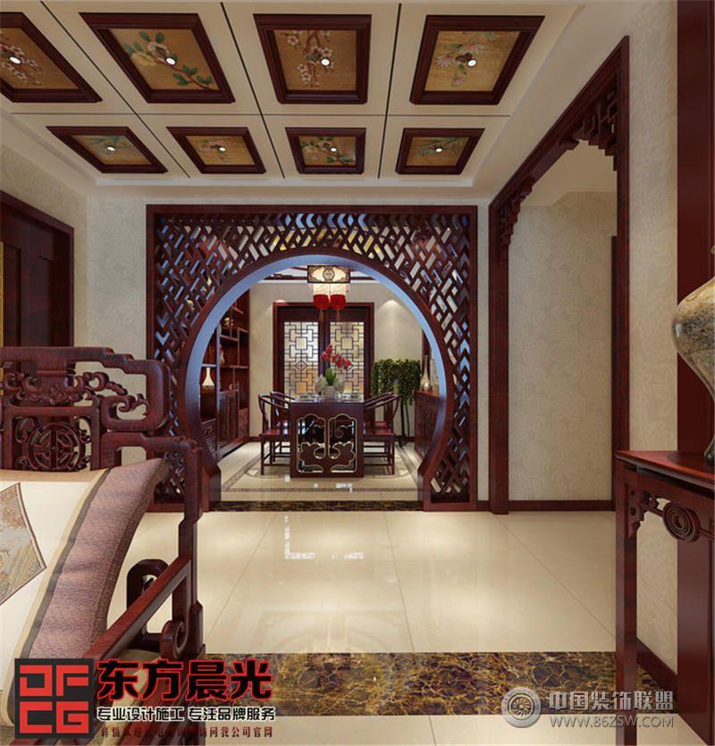 中国风中式别墅装修设计-餐厅装修图片   > 中国风中式别墅装