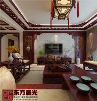 中国风中式别墅装修设计中式风格别墅