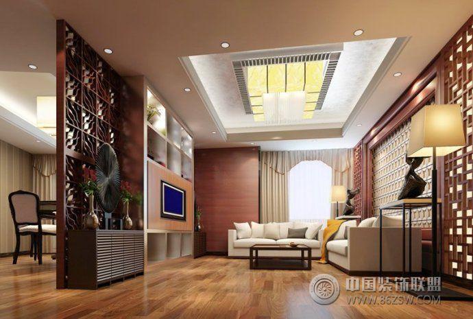 2014最新中式客厅设计 餐厅装修效果图