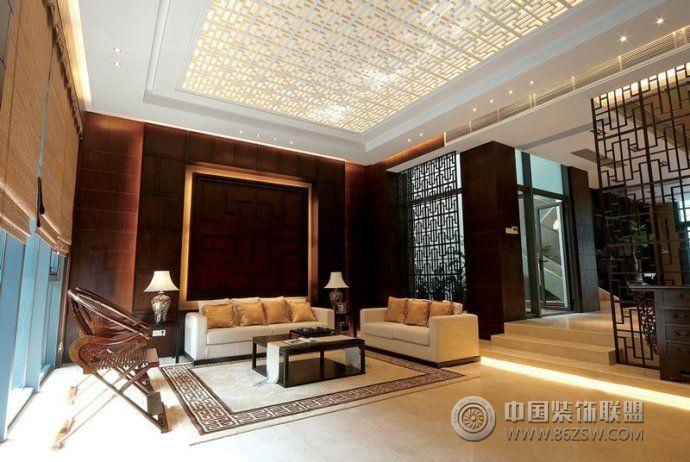 2014最新中式客厅设计 餐厅装修效果图 -2014最新中式客厅设计 餐厅