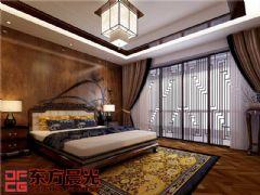 北京现代四合院别墅设计中式风格大户型