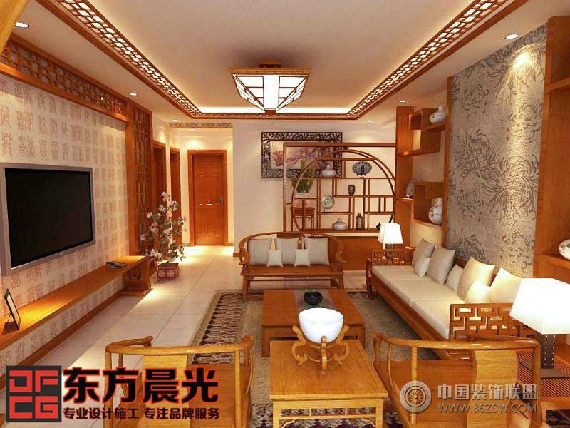 中式四合院设计装修图片