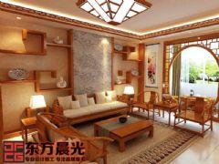中式四合院设计装修中式风格大户型